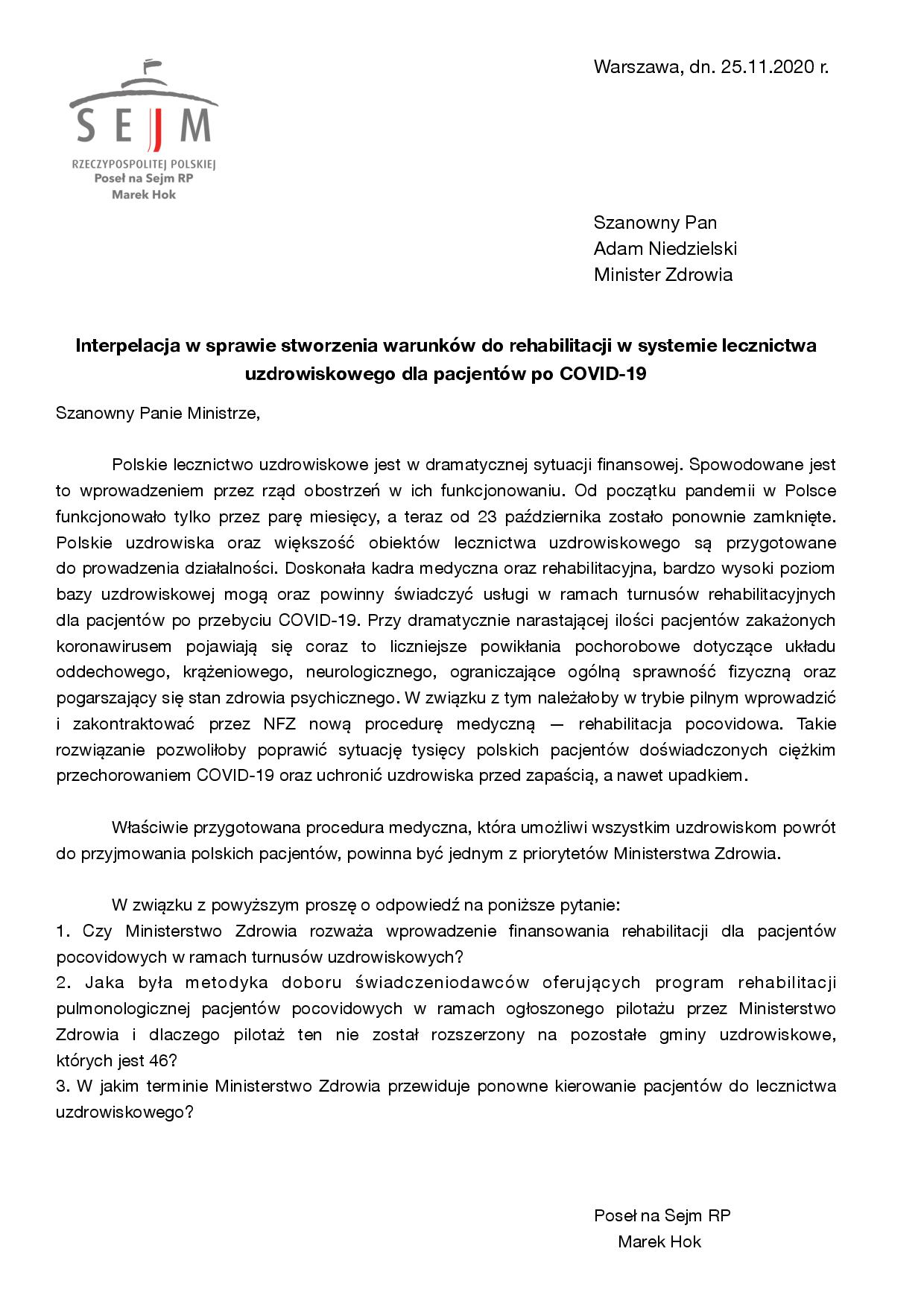 2Interpelacja rehabilitacja COVID 19 page 001