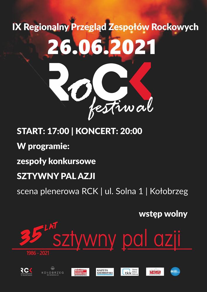 rck rock plakat